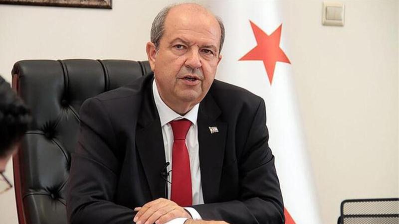 KKTC Cumhurbaşkanı Tatar'dan Erdoğan'a tebrik!