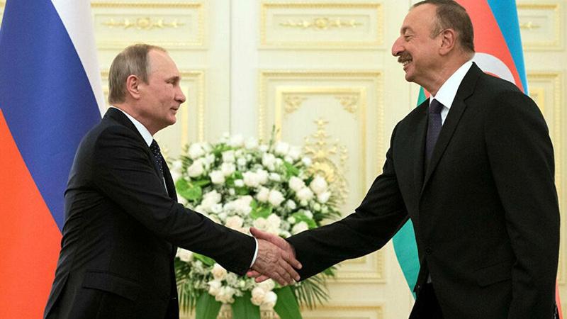 Aliyev ile Putin Karabağ'da ateşkesi teyit etti