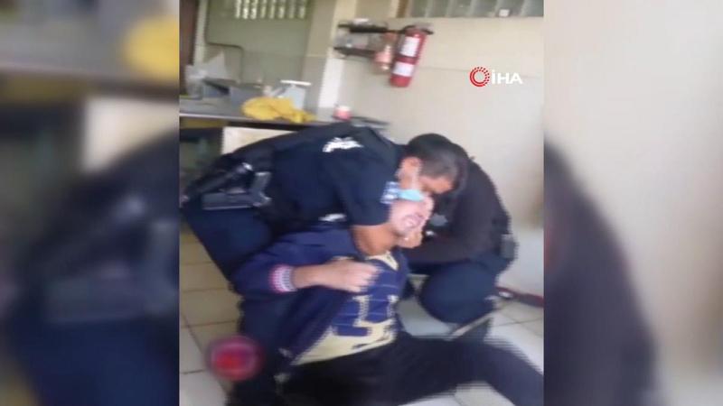 Meksika polisinin orantısız güç kullandığı anlar kamerada