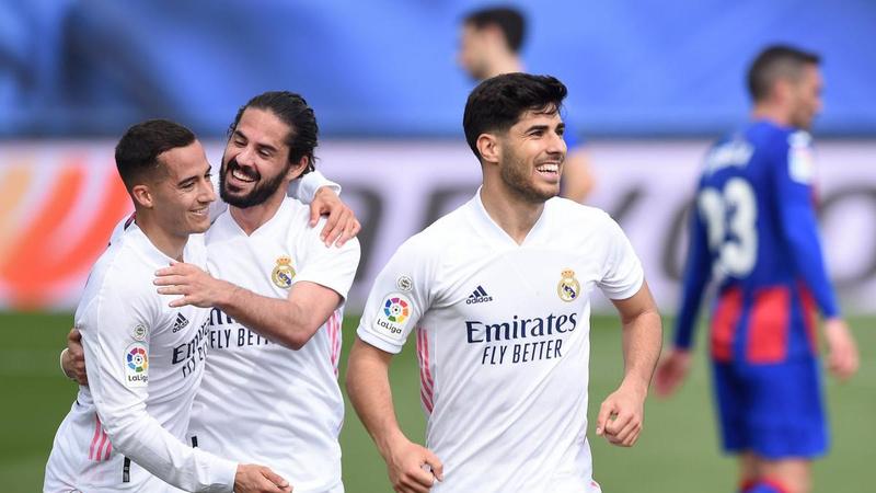 Real Madrid, Eibar'ı 2 golle geçti