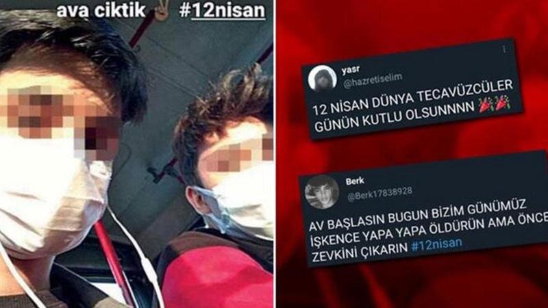 Sosyal medyada '12 Nisan' rezaleti! Kimlikleri tespit edildi
