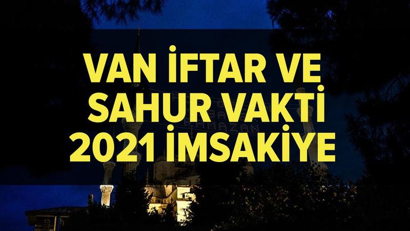 Van imsakiye 2021