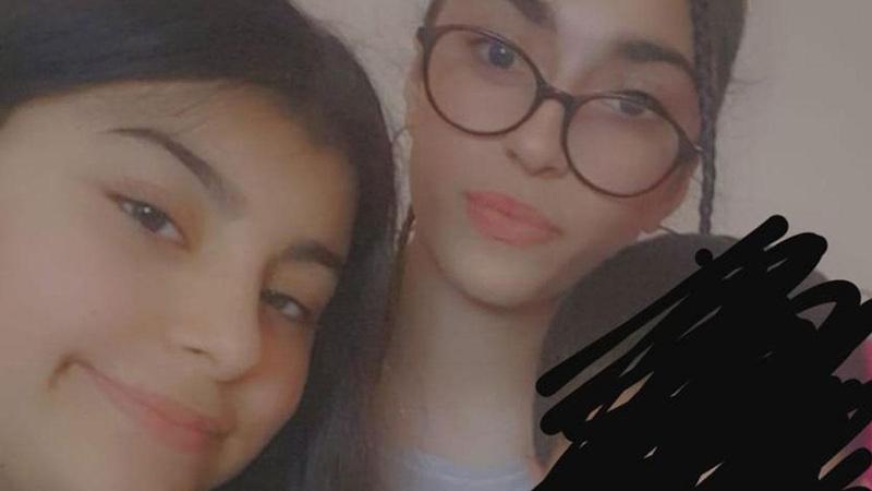 İki küçük kız kayboldu, aile fenalık geçirdi