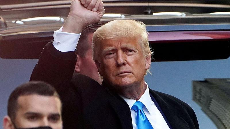 Trump'tan Biden'a suçlama: Şu anda beraberler