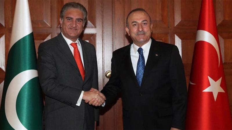 Pakistan Dışişleri Bakanı, Çavuşoğlu ile görüştü!
