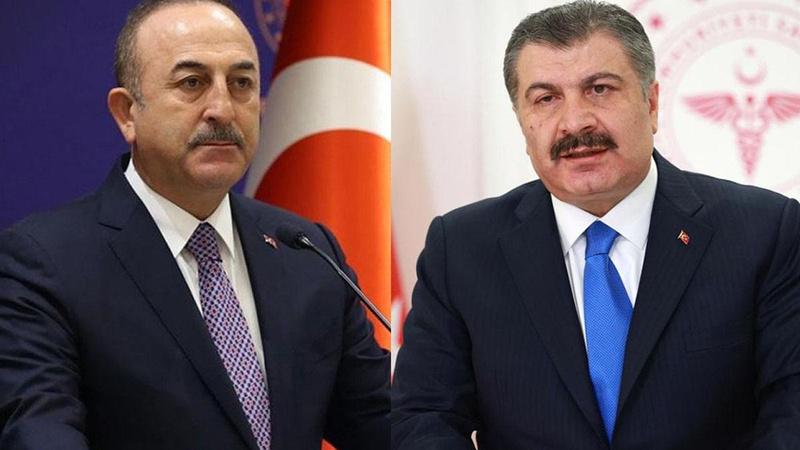 Bakan Çavuşoğlu ve Bakan Koca'dan Rusya'ya kritik ziyaret!