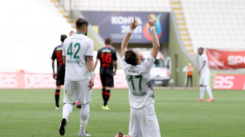 Konyaspor'dan Karagümrük'e 5 gol