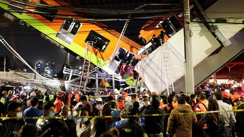 Meksika'da metro faciası: Ölü ve yaralılar var!