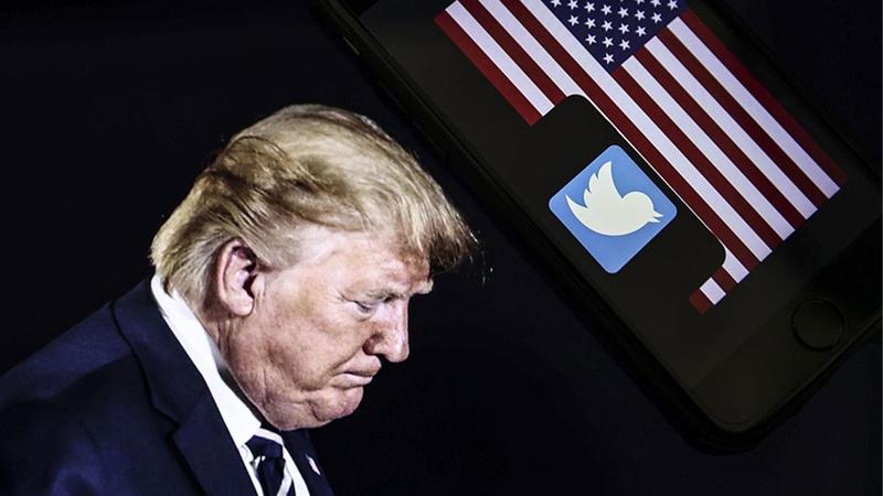 Twitter Trump'ın yeni platformunu da askıya aldı!