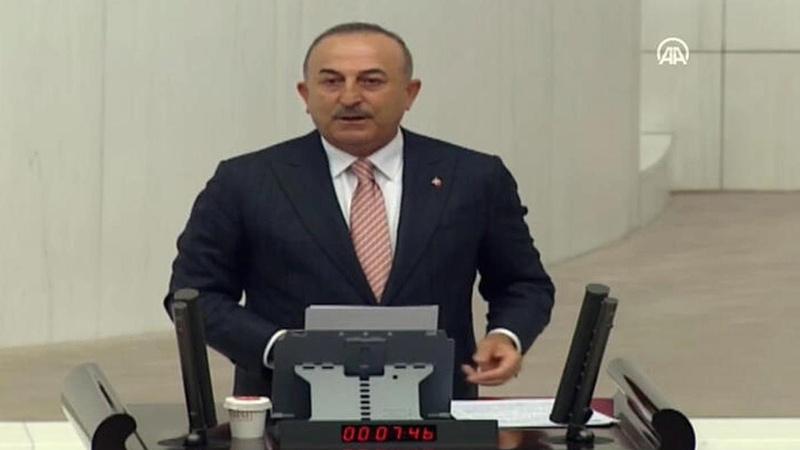 Bakan Çavuşoğlu Gazze oturumunda konuştu