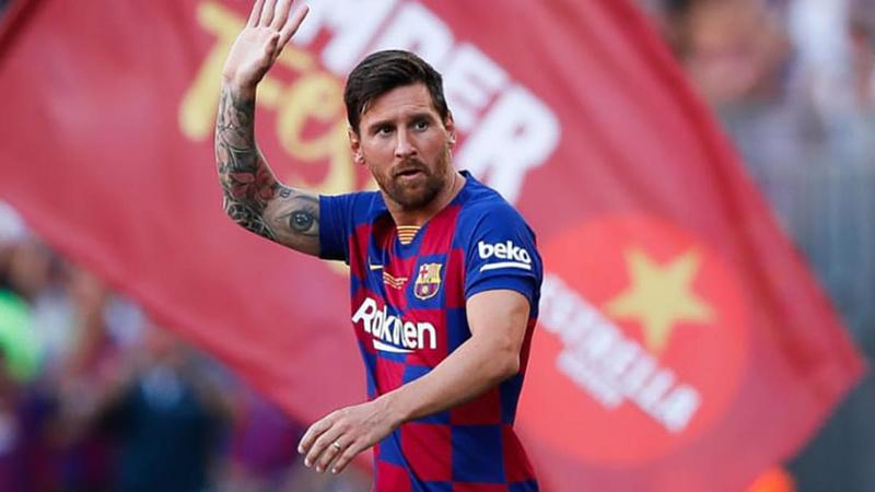 Messi yeni sözleşme imzalamadan Barselona'dan ayrıldı