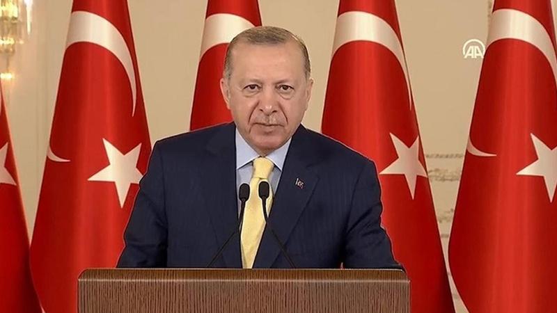 Erdoğan'dan Kıbrıs müzakereleri için 'iki devlet' mesajı