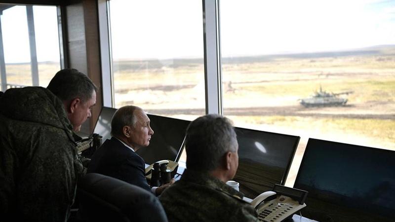 Putin: Yeni silahlar Suriye'de test ediliyor