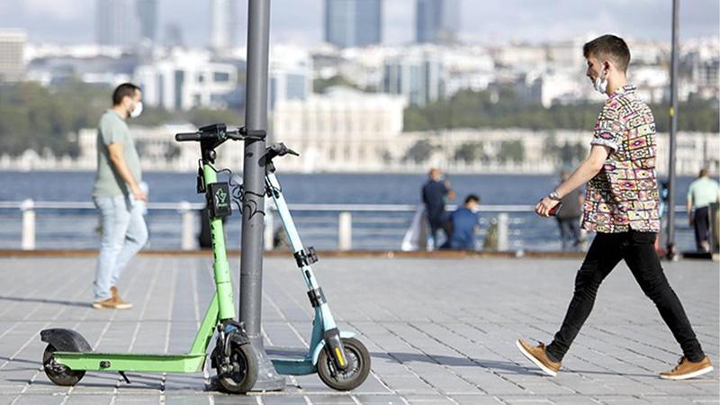Elektrikli scooter kullanımına düzenleme!