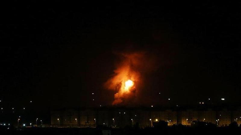 İsrail Şam bölgesinde Esed güçlerini vuruyor iddiası!