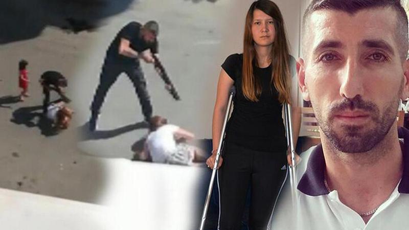 Eski eşini kızının gözü önünde vurdu, tahliyesini istedi!