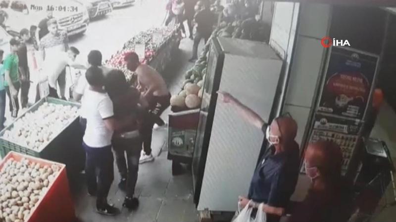 Soğanlı saldırganlar yakalandı! Manavcıyı darp etmişlerdi