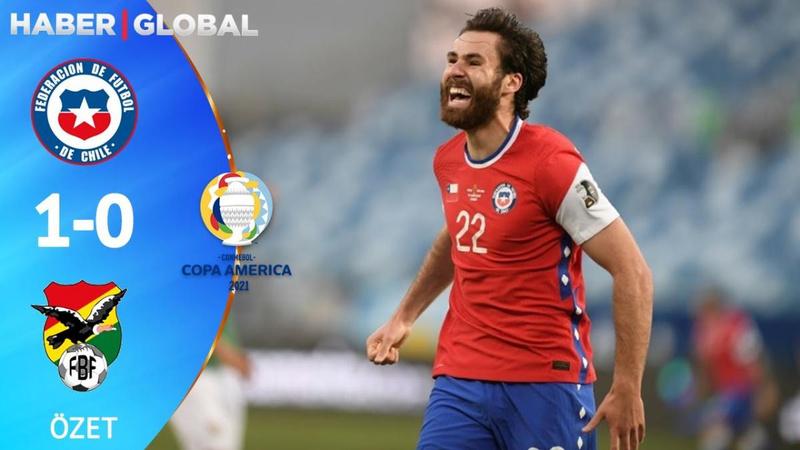 Şili tek golle kazandı