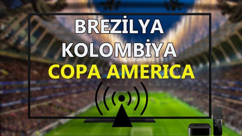 Brezilya Kolombiya maçı CANLI İZLE