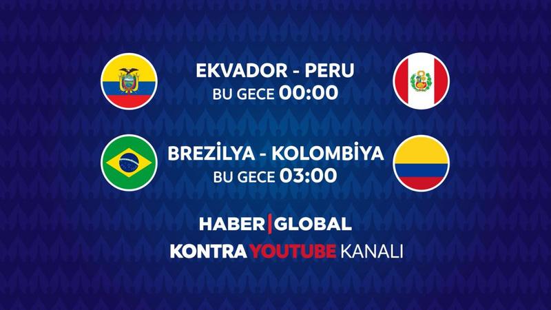 Ekvador - Peru maçı Haber Global'de