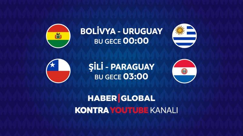 Bolivya - Uruguay maçı Haber Global'de