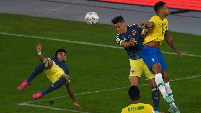 Enfes gol Kolombiya'ya yetmedi! Brezilya son dakikada güldü