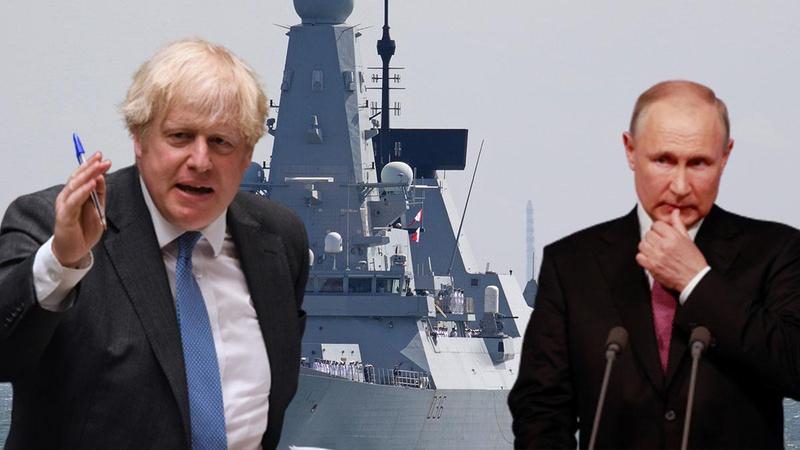 Rusya nota verdi, Boris Johnson 'Kırım' vurgusu yaptı