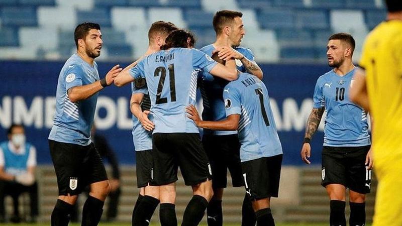 Uruguay gruptaki ilk galibiyetini aldı