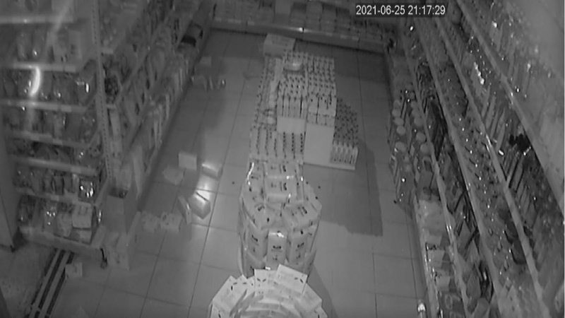 Bingöl Kiğı'daki 5.2'lik deprem kameralara böyle yansıdı