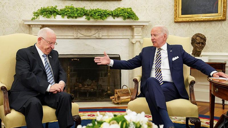 İsrail Cumhurbaşkanı ile görüşmesinde Biden'dan sert mesaj