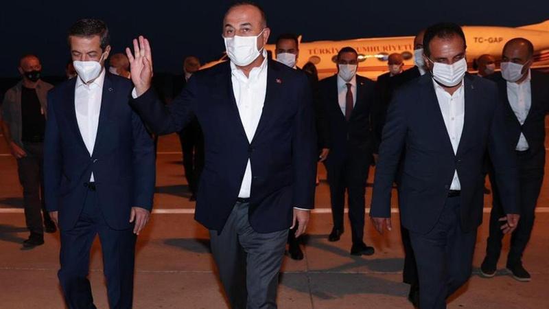 Dışişleri Bakanı Çavuşoğlu, KKTC'de