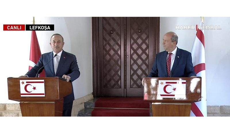 Tatar ve Çavuşoğlu'dan net mesaj