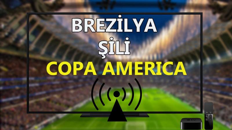 Brezilya Şili maçı CANLI İZLE