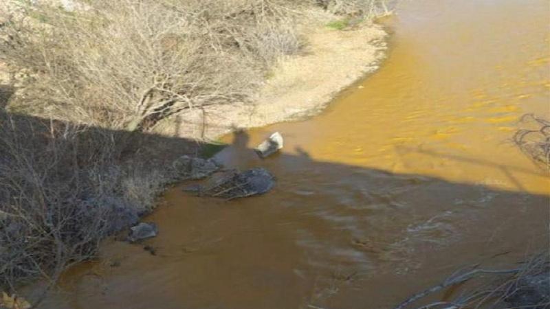 Ermenistan, Azerbaycan'a akan Okçuçay Nehri'ni zehirliyor