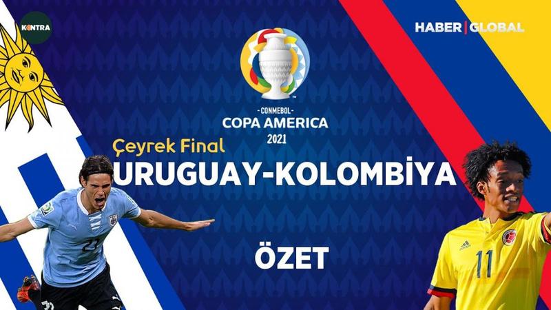 Kolombiya yarı finalde