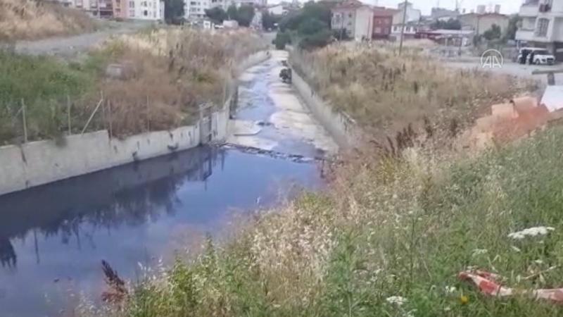 Haramidere'de atık su kirliliği sürüyor