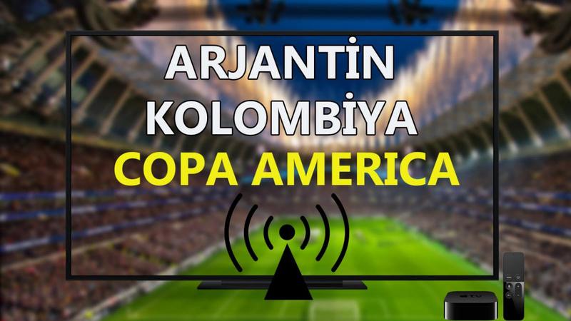 Arjantin Kolombiya maçı CANLI İZLE