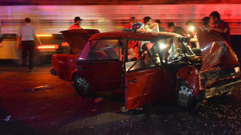 Aydın'da feci kaza: Karı-koca kurtarılamadı