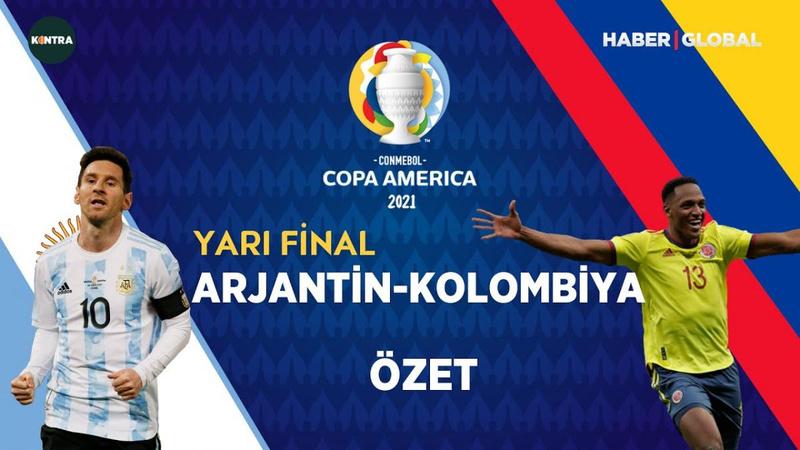 Arjantin finalde Brezilya'nın rakibi oldu