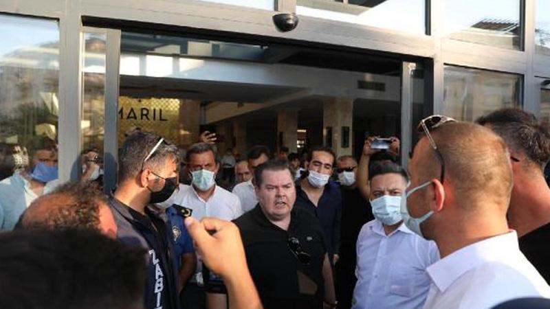 Mühür bozup, müşteri alan otel ikinci kez mühürlendi