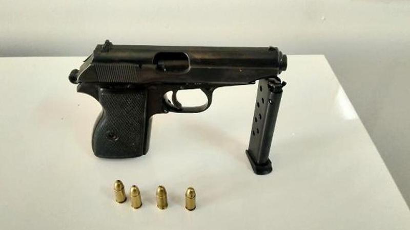 Cinayet işlenen tabancanın bulunduğu yer şaşkına çevirdi!