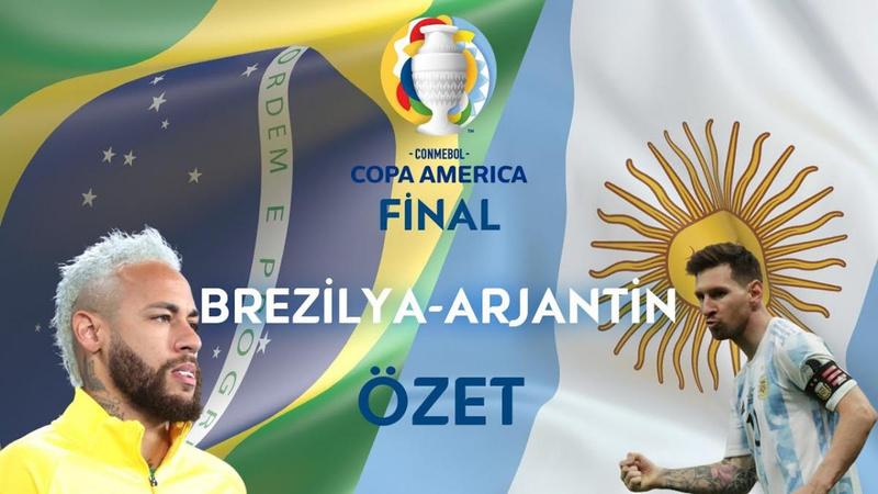 Copa America'da şampiyon Arjantin