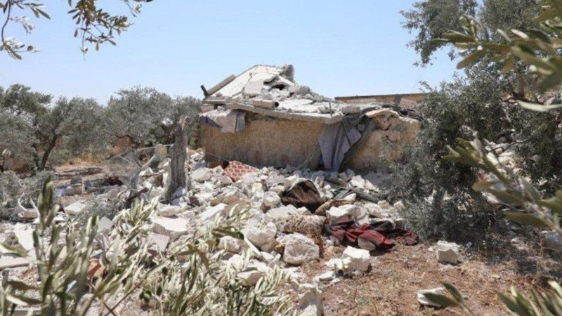 İdlib'de yine siviller hedef alındı!