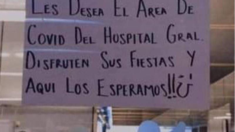 Festivale katılanlara hastaneden ilginç tepki