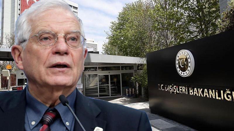 Dışişleri'nden AB'nin Kıbrıs açıklamasına tepki