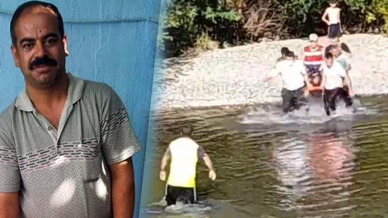 Baba ve 3 çocuğunu kurtarıp boğuldu