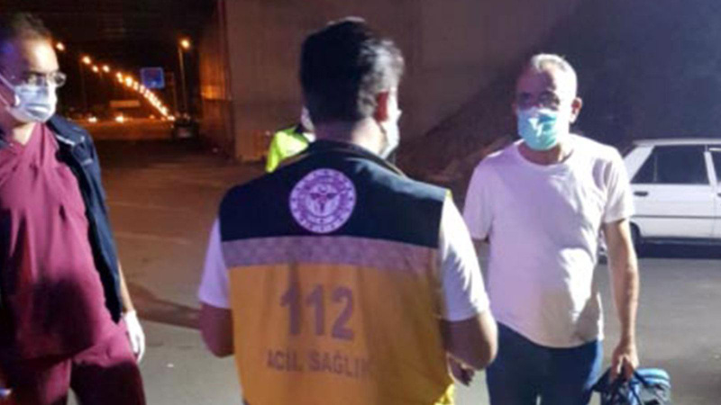 Pozitif olan yolcu şehirlerarası otobüste yakalandı