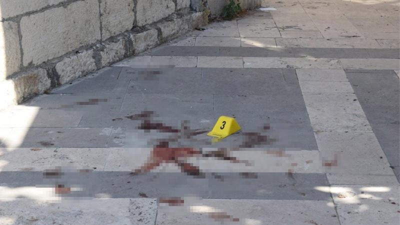 Malatya'da taciz kavgası: Kaçarken beton zemine düştü