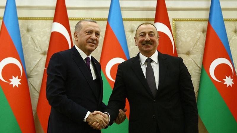 Aliyev'den Cumhurbaşkanı Erdoğan'a başsağlığı mesajı
