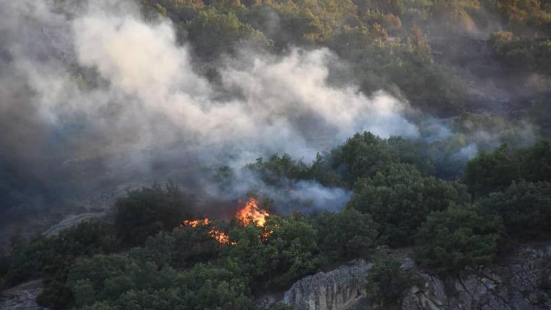Ankara'da çıkan yangın kontrol altına alındı!